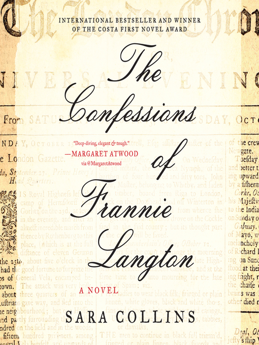 Title details for The Confessions of Frannie Langton by Sara Collins - Wait list