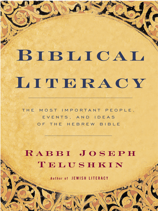 Cover of Biblical Literacy