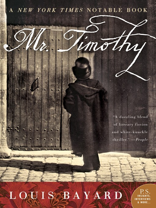 Title details for Mr. Timothy by Louis Bayard - Available