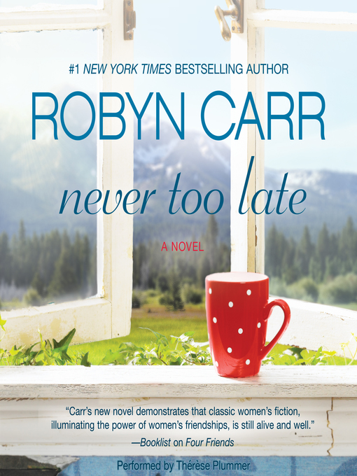 Cover of Never Too Late