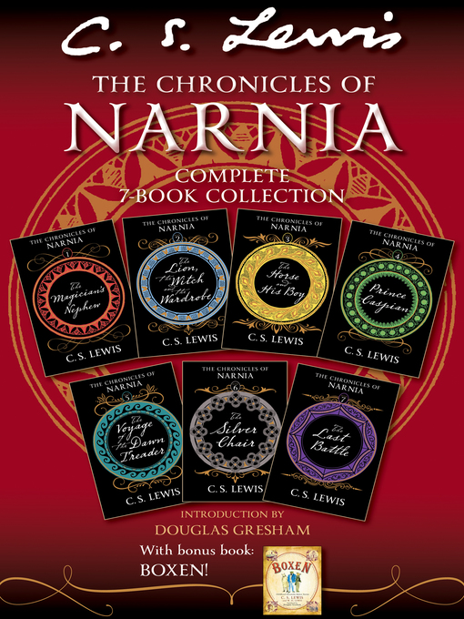 Cover of The Chronicles of Narnia Complete 7-Book Collection with Bonus Book Boxen