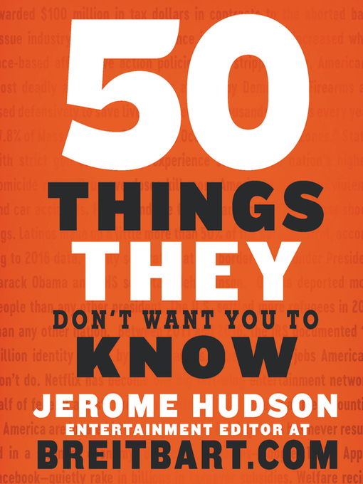 Title details for 50 Things They Don't Want You to Know by Jerome Hudson - Available