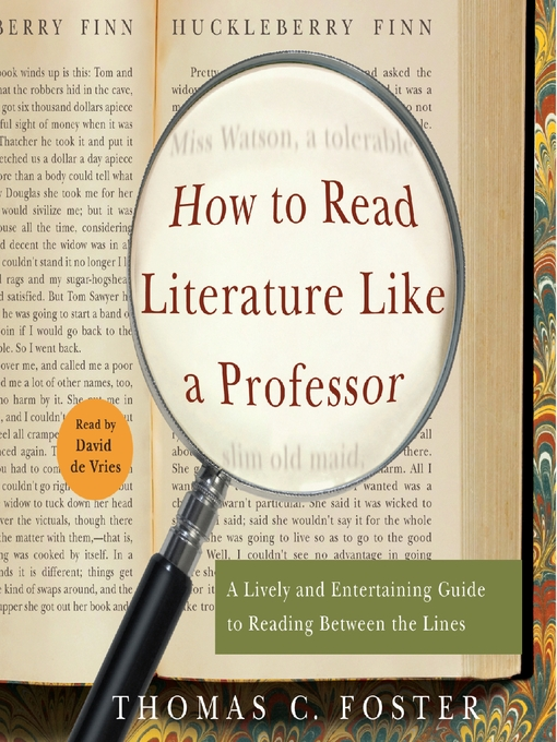 how to read literature like a Choosing to enter a new life while leaving behind the old one.