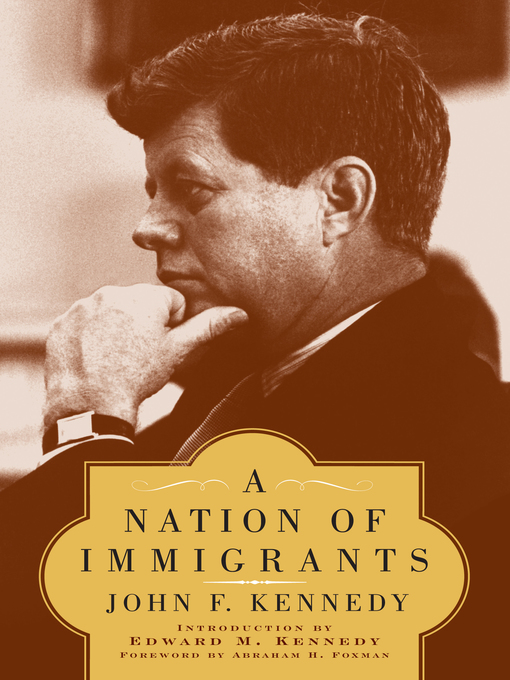 an analysis of an essay in a nation of immigrants in the united states