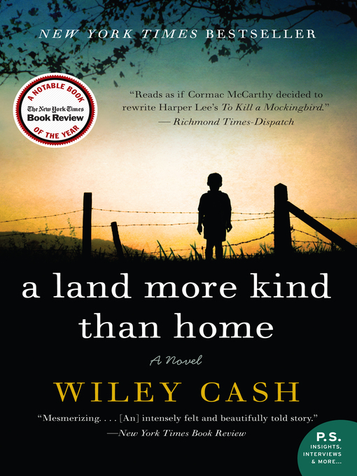 Title details for A Land More Kind Than Home by Wiley Cash - Wait list