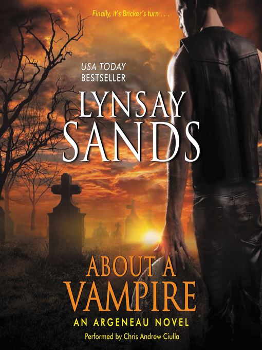 Cover of About a Vampire
