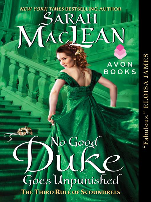 Title details for No Good Duke Goes Unpunished by Sarah MacLean - Wait list