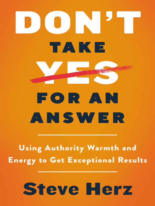 Cover image for Don't Take Yes for an Answer