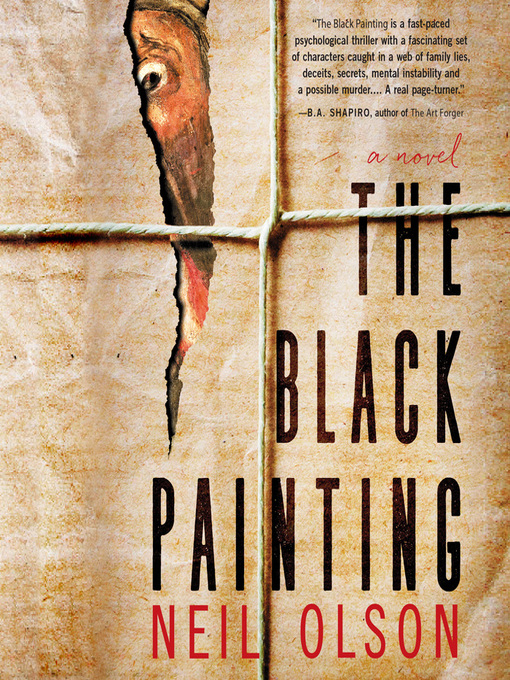 Title details for The Black Painting by Neil Olson - Available