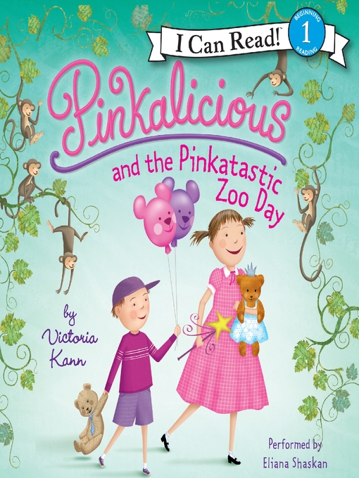 pinkalicious and the pinkatastic zoo day toronto public library