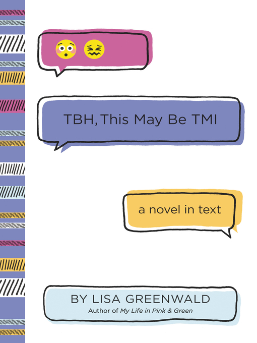 Title details for TBH #2 by Lisa Greenwald - Wait list