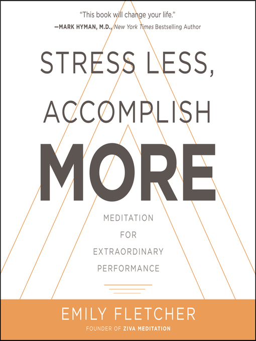 Cover image for Stress Less, Accomplish More