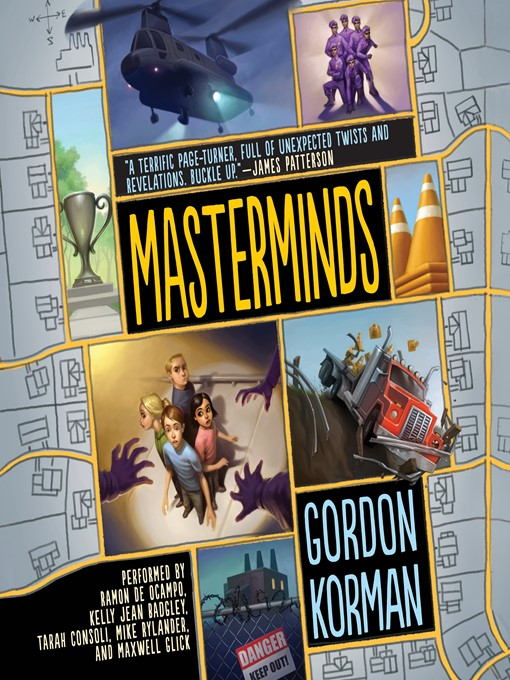 Title details for Masterminds by Gordon Korman - Wait list