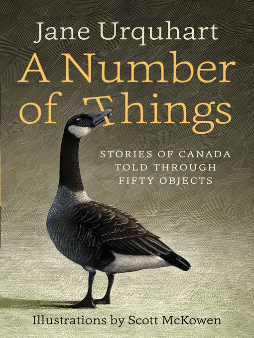 Title details for A Number of Things by Jane Urquhart - Wait list