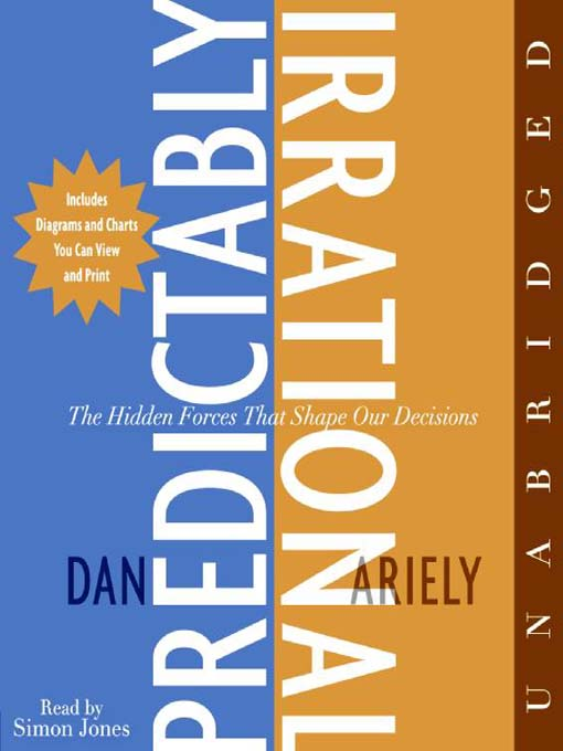 Title details for Predictably Irrational by Dr. Dan Ariely - Wait list