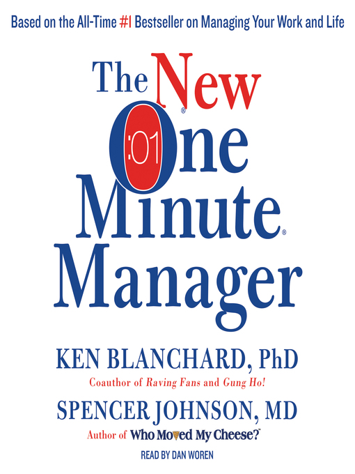Title details for The New One Minute Manager by Ken Blanchard - Available