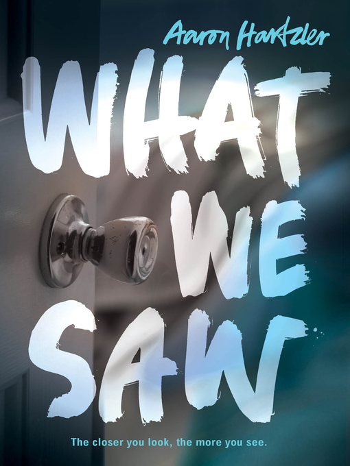 Cover of What We Saw