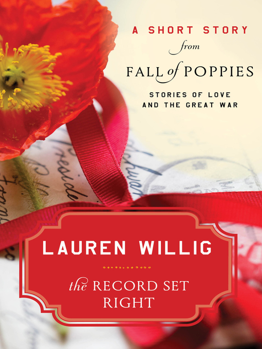 Title details for The Record Set Right by Lauren Willig - Available