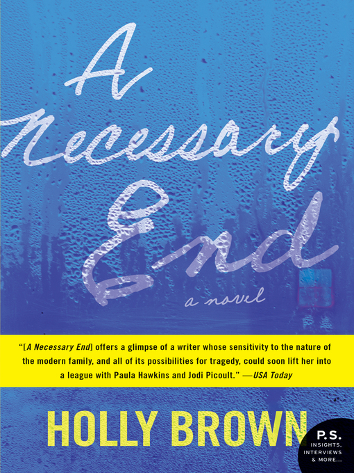 Cover of A Necessary End