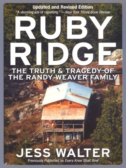 Title details for Ruby Ridge by Jess Walter - Wait list