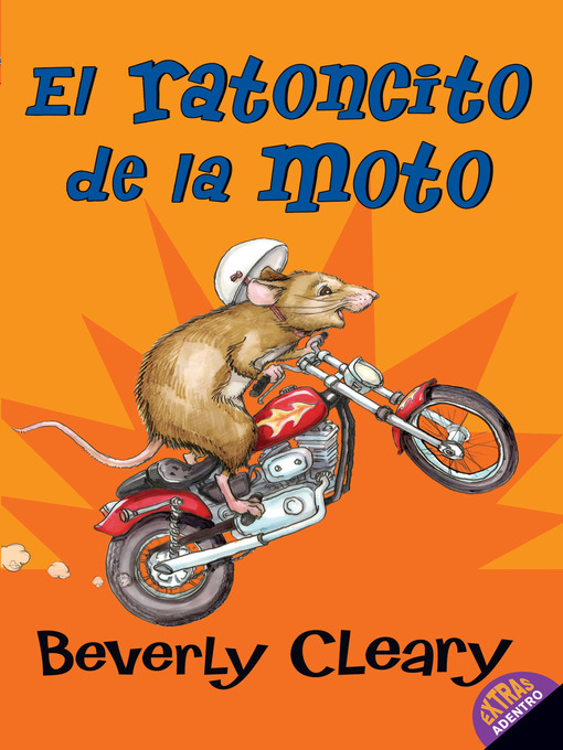 Cover of El ratoncito de la moto