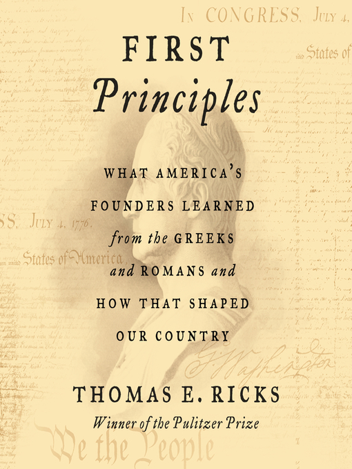 Title details for First Principles by Thomas E. Ricks - Wait list