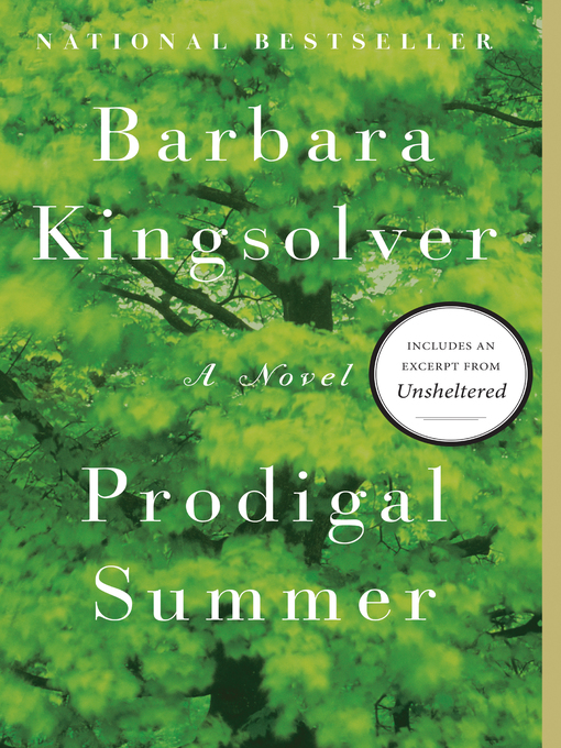 Title details for Prodigal Summer by Barbara Kingsolver - Wait list