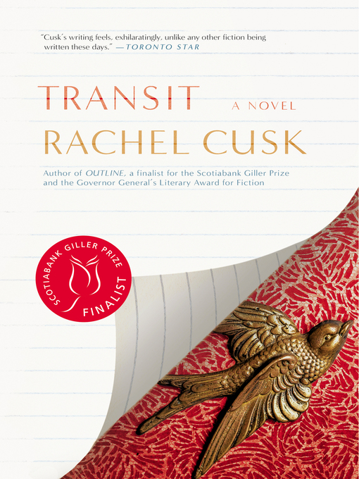 Title details for Transit by Rachel Cusk - Wait list