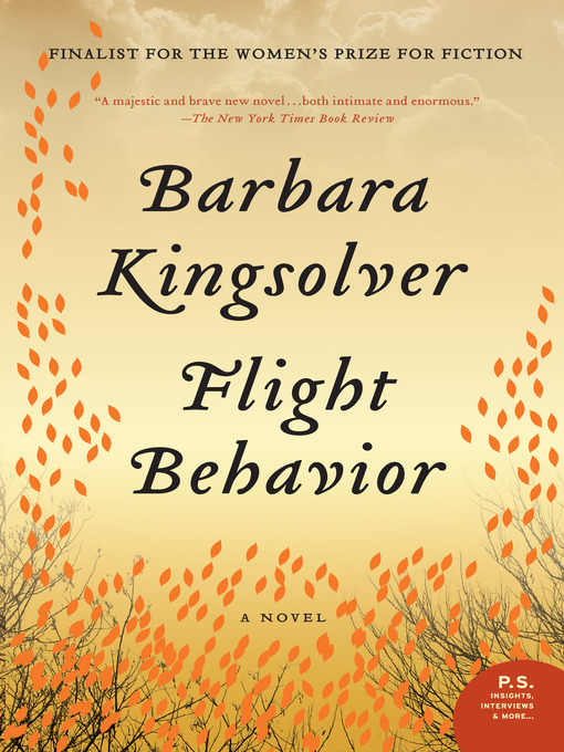 Title details for Flight Behavior by Barbara Kingsolver - Wait list