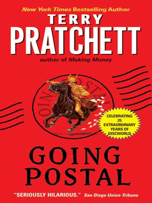Title details for Going Postal by Terry Pratchett - Wait list