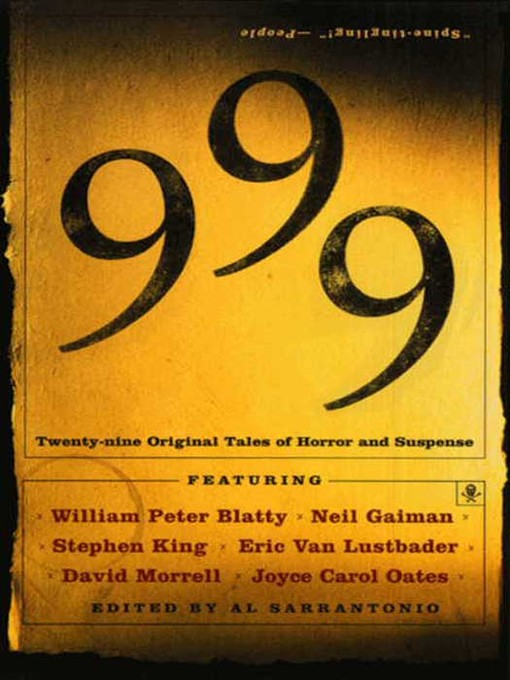 Title details for 999 by Al Sarrantonio - Available