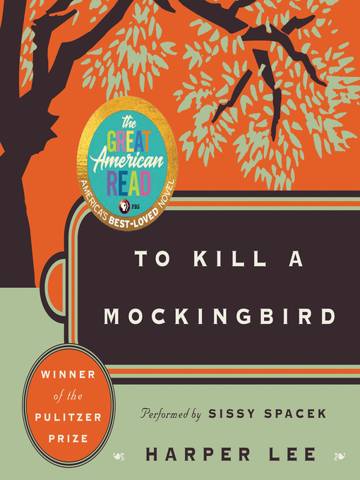 Cover image for book: To Kill a Mockingbird