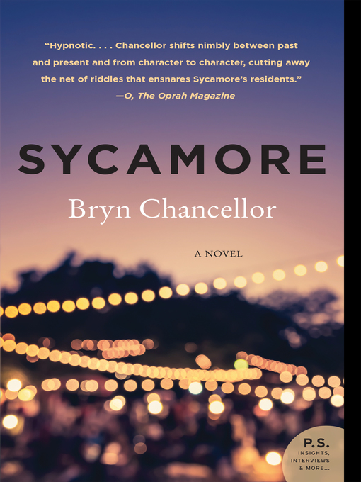 Title details for Sycamore by Bryn Chancellor - Wait list