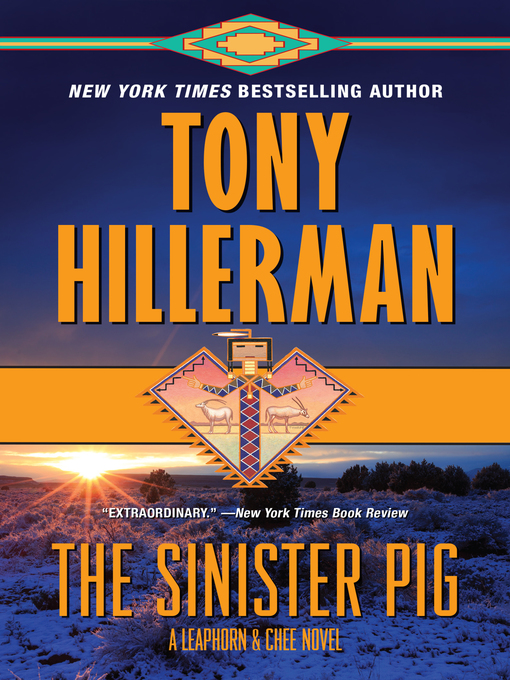 Title details for The Sinister Pig by Tony Hillerman - Wait list