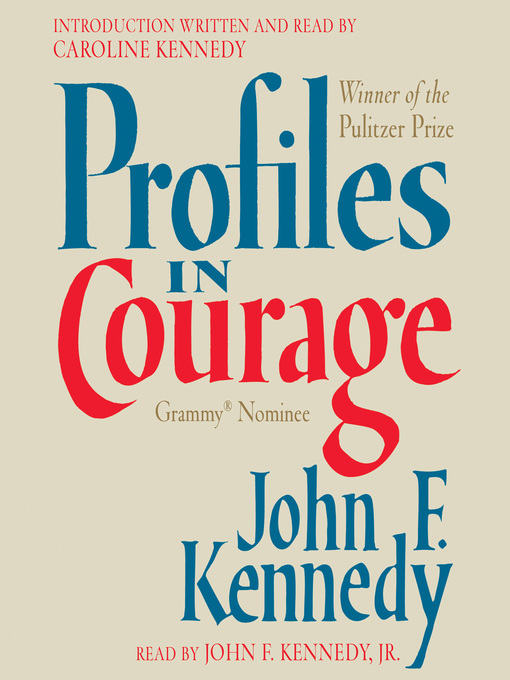 Cover of Profiles in Courage