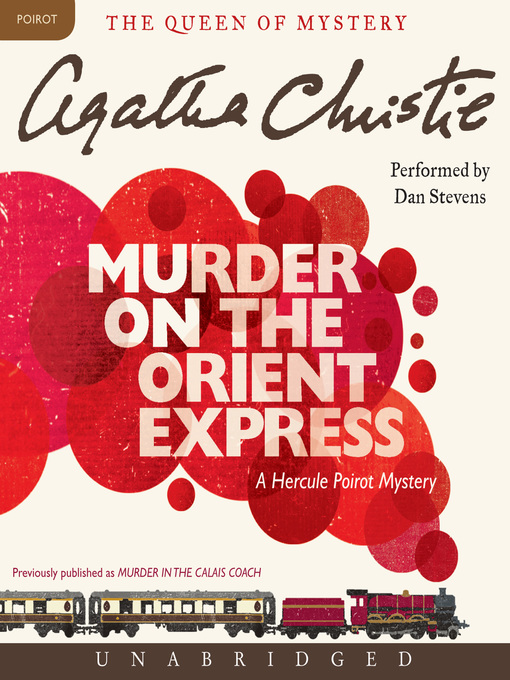 Title details for Murder on the Orient Express by Agatha Christie - Wait list