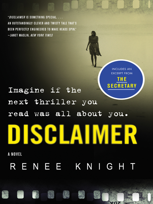 Title details for Disclaimer by Renée Knight - Available