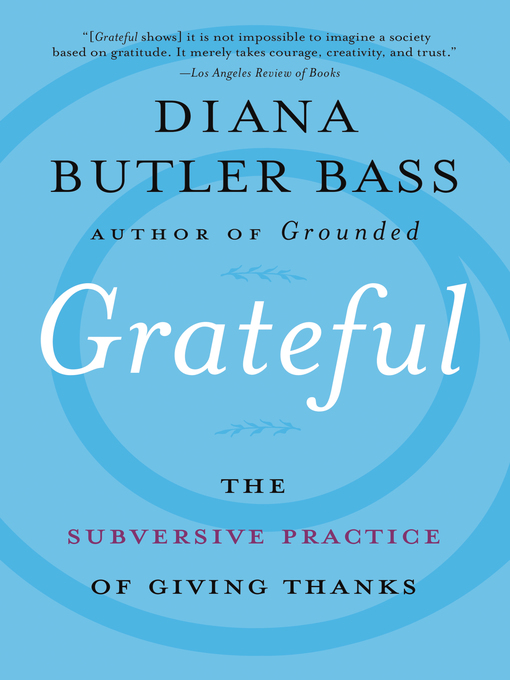 Title details for Grateful by Diana Butler Bass - Available