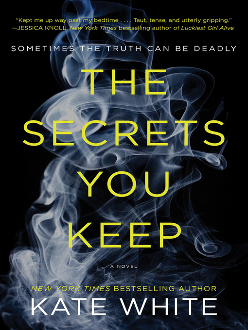 Title details for The Secrets You Keep by Kate White - Wait list