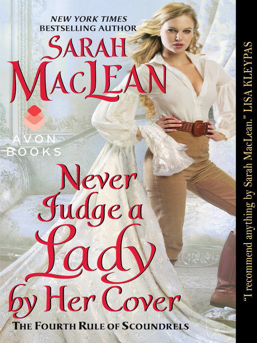 Title details for Never Judge a Lady by Her Cover by Sarah MacLean - Wait list