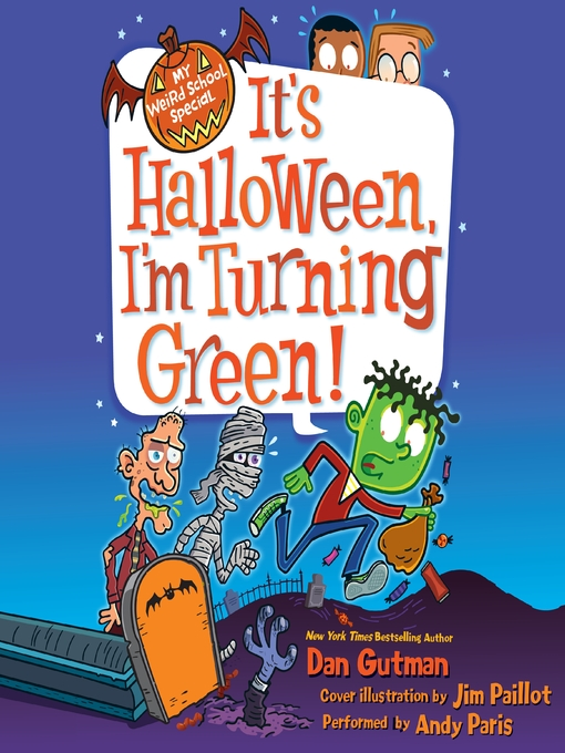 Cover of It's Halloween, I'm Turning Green!
