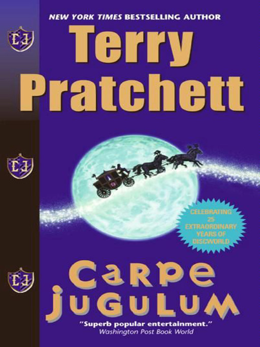 Title details for Carpe Jugulum by Terry Pratchett - Available