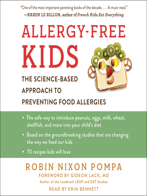 Title details for Allergy-Free Kids by Robin Nixon Pompa - Wait list