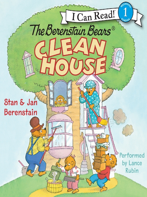Cover image for The Berenstain Bears Clean House