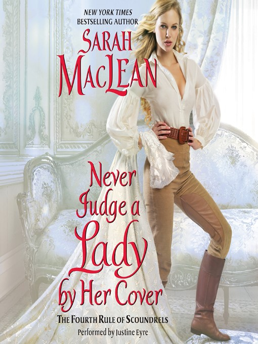 Title details for Never Judge a Lady by Her Cover by Sarah MacLean - Available