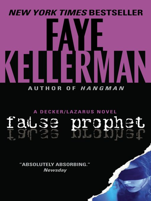 Title details for False Prophet by Faye Kellerman - Wait list