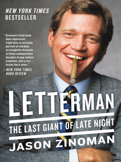 Title details for Letterman by Jason Zinoman - Available