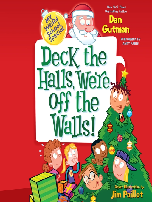 Cover of Deck the Halls, We're Off the Walls!
