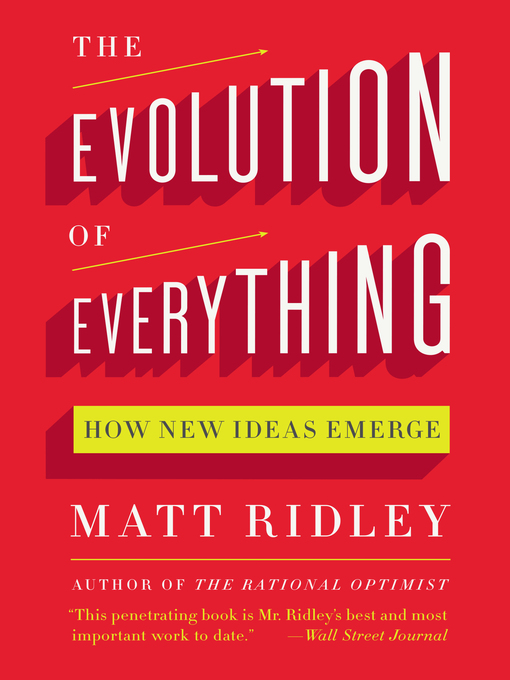 Cover of The Evolution of Everything