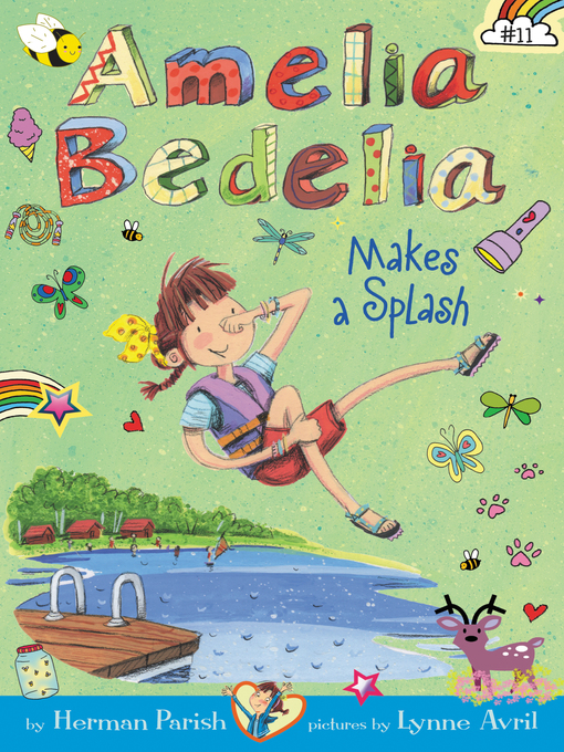 Cover of Amelia Bedelia Camps Out